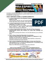 387- guerra espiritual  5 secretos  - lic