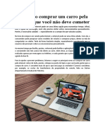 4 Erros Ao Comprar Um Carro Pela Internet Que Voce Nao Deve Cometer - Maosaoauto.com.Br2
