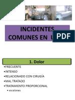 Incidentes Comunes en URPA