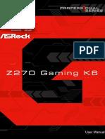 Fatal1ty Z270 Gaming K6