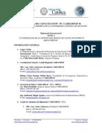 CARSAMPAF Diplomado Internacional Coordinación de La Gestión de Riesgo de Fauna Silvestre en Aeropuertos