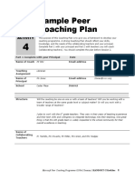 Sample Peer Coaching Plan (1)