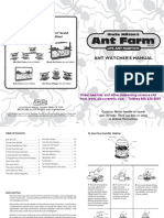 Ant Farm Instructions