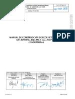 M-COO-001_V3 Manual Construccion Redes Externas Gas Natural en Lima y Callao para Contratistas.pdf