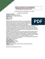Caso Clinico LCR