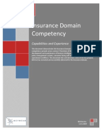 Insurance Domain Competency