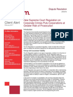 Client Alert - New Supreme Court Regulation on Corporate Crimes Puts Corporations at Greater Risk of Prosecution.pdf