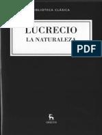 Lucrecio- La Naturaleza -Terremotos.
