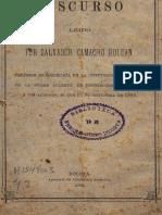Camacho Roldán - Estudio de La Sociología