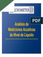 1_2_b_Análisis de Mediciones Acústicas de Nivel de Liquido