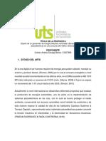 Ejemplo de Metodologia para proyectos de grado UTS