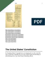 The United States Constituti