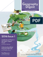 Geography Digest 2016 Issue 1