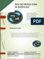 HELADOS DE FRUTAS CON TRAGOS EXÓTICOS.pptx