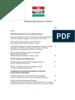 IFEAT Hongaria 2007 Proceedings