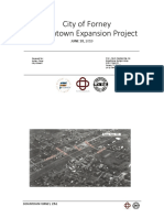 City of Forney - Downtown Extension Project
