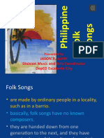 LECTURE-philippine Folk Songs