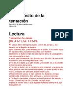 """""""El Propósito de la tentación"""" (Sermón 18)"""