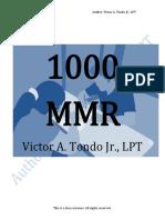 1000 MMR by Sir Victor Tondo Jr.,LPT