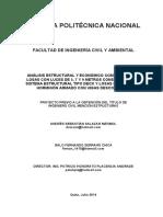 ANALISIS ESTRUCTURAL Y ECONOMICO COMPARATIVO LOSAS DE 5,7 Y 9 METROS.TRABAJO ESPECIAL DE GRADO
