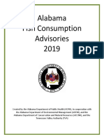Alabama Fish Consumption Advisory 2019