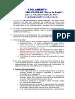 Reglamento Xxiv c.p Playa de Regla