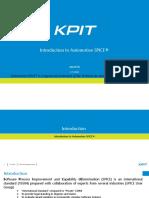 AutomotiveSPICE Introduction