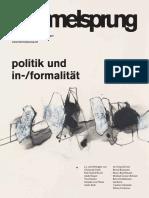 Hammelsprung Ausgabe 11 Politik und Informalität