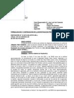 288417711 Formalizacion de La Investigacion Preparatoria Caso 991 2015 Violacion Sexual