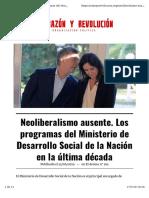 Neoliberalismo Ausente - Pablo Estere