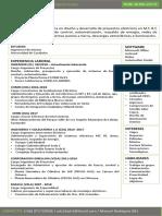 Curriculum Ing