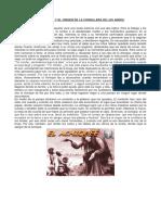 El Achiqué y El Origen de La Cordillera de Los Andes