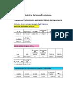 Cálculo Con Cortocircuito, Arco Electrico, Verificación de La Instalación