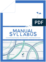 Manual Syllabus