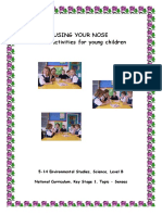 SAPS - Using Your Nose - Smell Activities