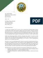Ehardt Letter
