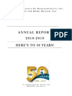 2019 Home Care Alliance and Foundation for Home Health Annual Report