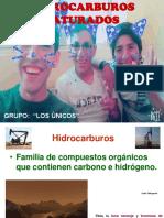 HIDROCARBUROS SATURADOS