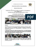 INFORME PSICOLOGIA Gestion Febrero a Noviembre Enviar