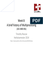 08 Multiprocessing History