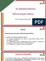 Slides Aula 10 Ufrgs 2018 Direito Administrativo Tatiana Marcello