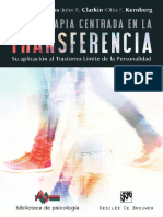 Psicoterapia Centrada en La Transferencia (2)