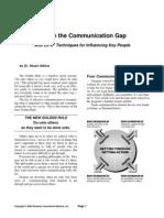 Bridge the Communication Gap