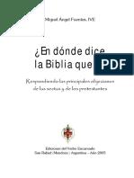 FUENTES-En Donde Dice La Biblia Que