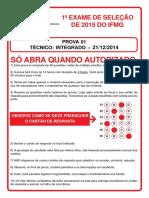 PROVA DO INTEGRADO 2015.pdf
