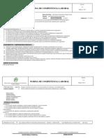 Norma de Competencia Laboral 220601060