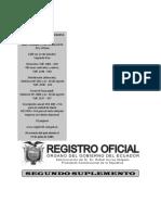 Ley Organica de Recursos Hidricos - Copia