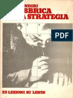 La Fabbrica della Strategia (Toni Negri)