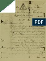 Carta Estrela Do Norte 1874
