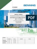 Manual 615-002824 Sistema Rectificador de -48V Rev1